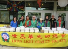 Golden Lake Seafood Restaurant Sponsored LLCS Hot Meals for Homeless Program
