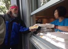 LLCS June Hot Meals Program for Homeless in Oppenheimer Park