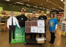 Save On Foods Terra Nova and Ironwood join forces to support our Winter Charity Drive 2016