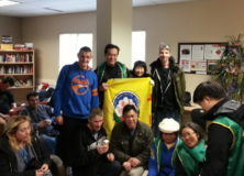 Winter Charity Drive 2016: Councillor Kerry Jang and LLCS Volunteers visit HEAT shelter