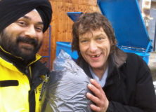Winter Charity Drive 2016: Lotus Light donates sleeping bags for community patrol teams to help the homeless