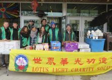 """LLCS February """"Hot Meals for the Homeless"""" Program Received the Third Time Support from Pink Pearl Seafood Restaurant"""