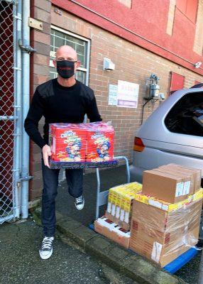 Teacher Loading Donation
